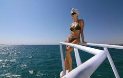 Relajación sobre el mar Imagen de archivo