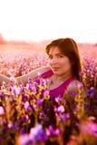 Relajación en el prado Foto de archivo libre de regalías