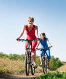 Relaje biking fotografía de archivo