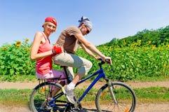 Relaje biking imágenes de archivo libres de regalías