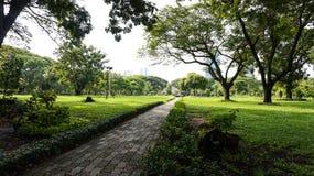 Relaje el tiempo en el parque público del lumpini Imagen de archivo libre de regalías