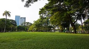 Relaje el tiempo en el parque público del lumpini Fotografía de archivo libre de regalías