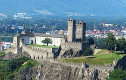 Relaje y disfrute de la visi?n Camorino, Suiza imagen de archivo libre de regalías