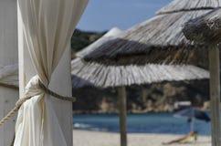 Relaks na plaży fotografia royalty free
