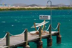 Relaksować na łódkowatym doku zdjęcia royalty free