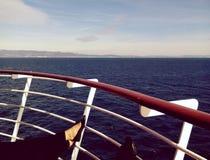 Relaksować na łodzi Fotografia Royalty Free