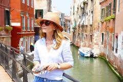 Relaksować przy Wenecja obrazy royalty free