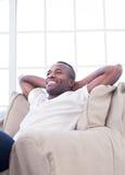 Relaksować w domu. Obrazy Royalty Free