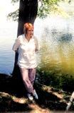 Relaksować w parku Obraz Royalty Free