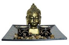 relaksu półkowy zen Obraz Royalty Free