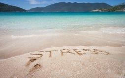 Pozwalać stres iść daleko od Zdjęcia Royalty Free