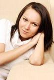 relaksująca kobieta obraz stock