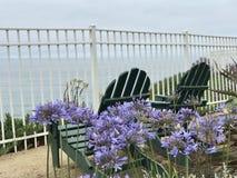 Relaksujący czas przy plażą Obraz Royalty Free