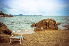 Relaksujący miejsce morzem Obrazy Stock