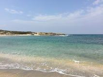 Relaksujący ocean Obraz Royalty Free