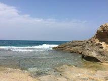 Relaksujący ocean Fotografia Stock