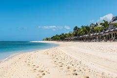 Relaksujący wakacje w tropikalnym raju Mauritius wyspa Fotografia Stock