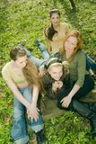 relaksujące kobiety Zdjęcia Royalty Free