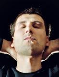 Relaksujący mężczyzna Fotografia Stock
