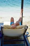 relaksuje Fotografia Stock