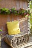 Relaksuje krzesło kąt Obrazy Royalty Free