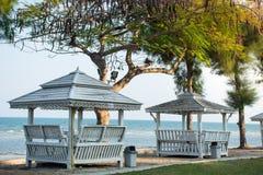 Relaksuje miejsce blisko plaży Fotografia Stock