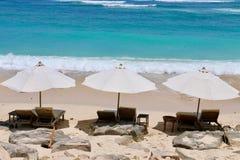 Relaksuje na plaży Zdjęcie Royalty Free