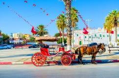 Relaksuje w Sousse Obrazy Royalty Free