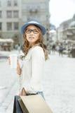 Relaksuje z kawą Obraz Royalty Free