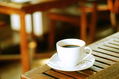 Relaksuje z niektóre kawą Obraz Stock