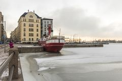 Relandersgrund,赫尔辛基,芬兰 库存图片