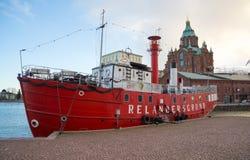 Relandersgrund船餐馆 库存照片