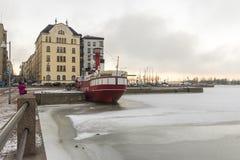 Relandersgrund, Helsinki, Finnland stockbild