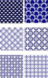 Relanzar el modelo del azulejo ilustración del vector