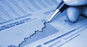 Relatório da contabilidade Imagens de Stock