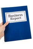 Relatório de negócio Fotografia de Stock Royalty Free