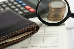 Relatório financeiro Imagem de Stock Royalty Free
