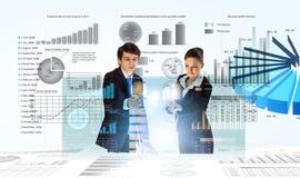 Relatório financeiro Imagens de Stock Royalty Free