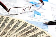 Relatório financeiro Fotos de Stock