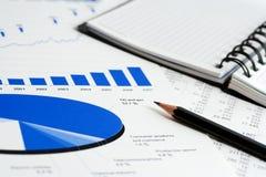 Relatórios de negócio. fotografia de stock