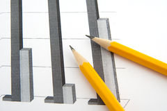 Relatórios de negócio Imagem de Stock