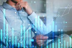 Relate e financie o conceito imagem de stock royalty free