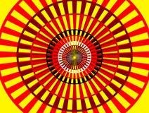 Relatie van abstracte cirkel Royalty-vrije Stock Afbeelding