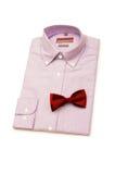 relation étroite de chemise Images stock