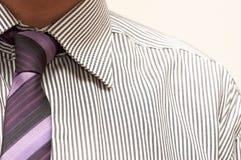 Relation étroite et chemise Images libres de droits