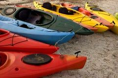 relations étroites de kayak Image stock