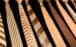 Relations étroites en bois Photo libre de droits