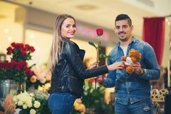 Relations, amour, concept roman Photo libre de droits
