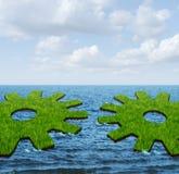 Relations d'affaires globales Image libre de droits