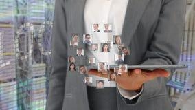 Relations d'affaires globales banque de vidéos